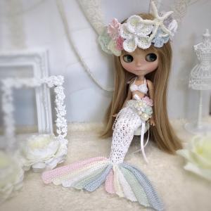 【出品情報】マーメイドのドレスセット col.Pretty pastels ネオブライス 服