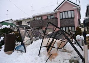 #カーポート積雪対策