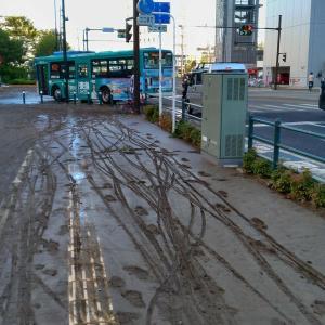 【悲報】武蔵小杉さん、道路がチョコレートまみれみたいになってしまう(画像あり)