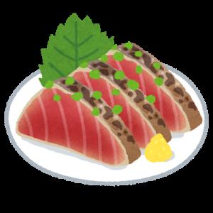 【ニンニクドバー】カツオのタタキ、結局わさび醤油で食べた方が美味いwwwwwwww(画像あり)