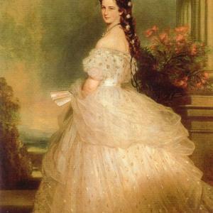 皇妃エリザベートの肖像画