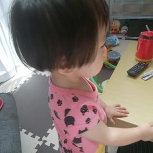 1歳9ヶ月女の子の成長。歌って踊り2語文を離す。トイトレは1回成功