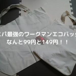 コスパ最強のワークマンエコバッグはなんと99円と149円!!
