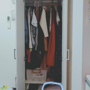 【衣類収納見直し③】家族の服の収納場所を変更!