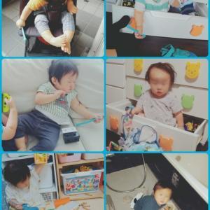 ばち丸(次男)1歳2ヶ月、寝ぐずりヒドめ