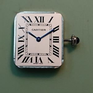 【CARTIER】電池液漏れ跡 分解掃除