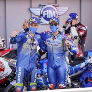 祝!SUZUKI Moto GP2020 優勝
