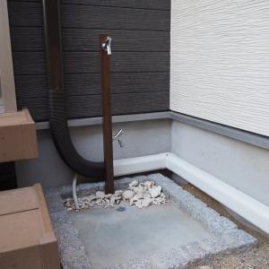 わが家の立水栓は