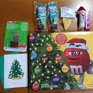 アメリカからのクリスマスプレゼント2019♪/M&M'sアドベントカレンダー