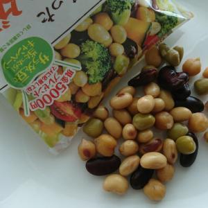 『モラタメ.net』で『乳酸菌が入った蒸し大豆/サラダ豆』をタメしました。