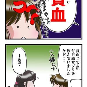 鉄分不足Σ(;゚Д゚)
