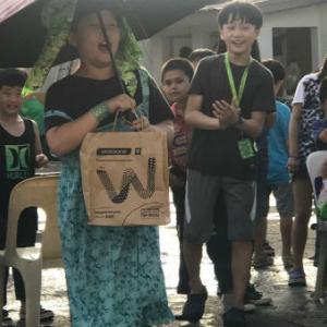 フィリピンの孤児院の子供たちとの交流