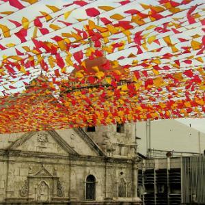 今週末はシヌログパレード、セブ最大のお祭りです
