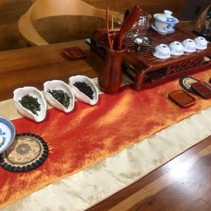 睦月の中国茶会。