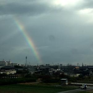 虹の中を、大阪へ