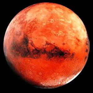火星が山羊座へ移動しました。
