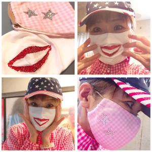 マスクをカバーするマスクを自作。
