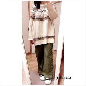 WEGOパンツ(XS)×娘の服コーデ・148cmにはちょい大きめだけど154cmさんにはおススメ