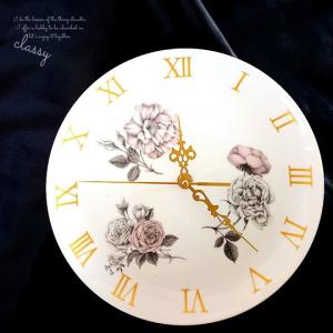ポーセラーツ♡時計と絵具