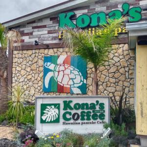 初めての娘の帰省とハワイアンなカフェ♡