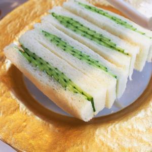 キュウリのサンドイッチ♡