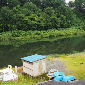 胎内川4回目釣行 ボート乗り場