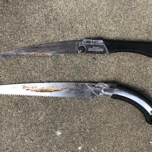 生木を切る剪定用ノコギリの選び方と、長く使用するための手入れポイント!