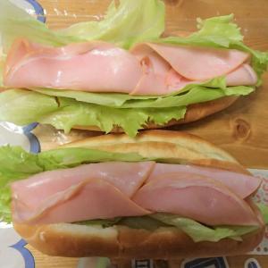 【貧民の手料理】ハムサンド