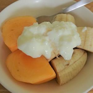 果物onヨーグルト