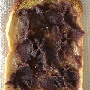 【貧民の手料理】あんこトースト