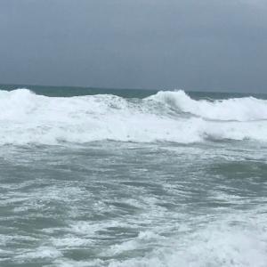 沖縄の台風を体験しちゃいました。