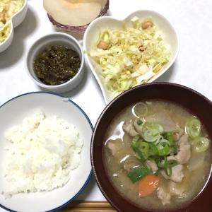 豚肉と野菜たっぷりの豚汁