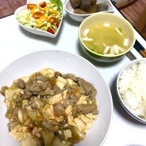 麻婆風肉豆腐!