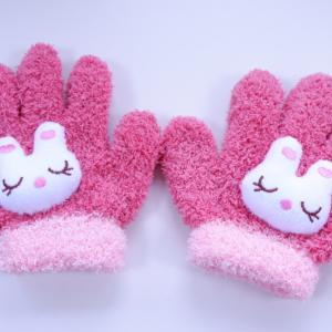★☆ 即席*。。ウサちゃん手袋。。♪♪ ★☆