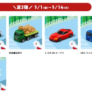 GW中マクドナルドのハッピーセットに赤い「トヨタ GR スープラ」!シークレットひみつのおもちゃは金の◯◯◯!?