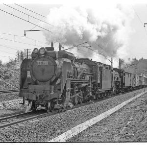 奥中山でD51+C60等を撮る 昭和43年3月東北鉄道撮影日記(5)