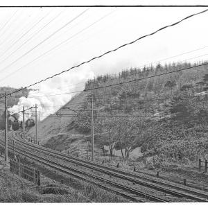 再び奥中山でD51三重連を撮る 昭和43年3月東北鉄道撮影日記(13)