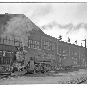 盛岡機関区でSLを撮りまくる 昭和43年3月東北鉄道撮影日記(19)