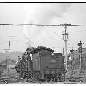 高麗川駅構内でD51,96を撮る  昭和43年9月八高線撮影日記(9)