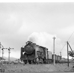 高麗川駅構内でD51,96を撮る  昭和43年9月八高線撮影日記(10)