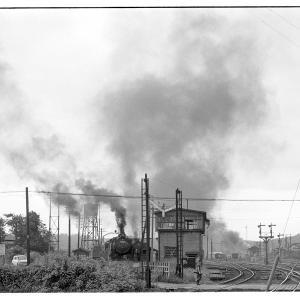 高麗川駅構内でD51,96を撮る  昭和43年9月八高線撮影日記(11)