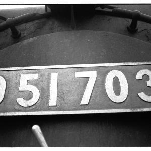 高麗川駅構内でD51を撮る  昭和43年9月八高線撮影日記(13)
