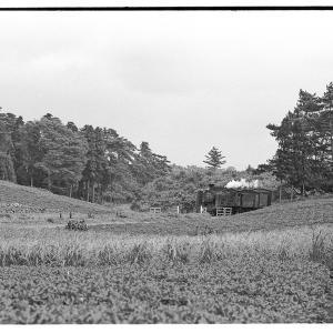 C57-C58の重連逆走回送  昭和43年9月22日総武本線撮影日記(2)