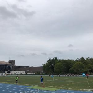 多摩川から等々力競技場経由 ラン