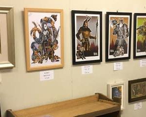 「ハイリヒ・アスガルド 北欧神話展」開催中です。