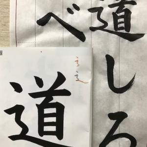 先取りレッスン~書写の授業