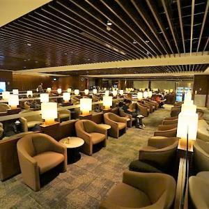 '19 シンガポール チャンギ空港・クリスフライヤーゴールドラウンジはこんな所でした。