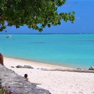 '07 ボラボラ・ランギロア旅行記④ ボラボラ島をレンタカーで走るとこんな景色に巡り逢えます