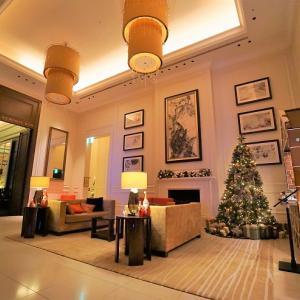 セントレジスホテル大阪宿泊記② 上質な雰囲気を醸し出すロビーでのチェックイン。
