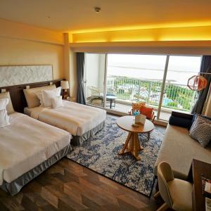 '20 石垣島 2回目のANAインターコンチネンタル石垣ホテル デラックスオーシャンウィングルームに宿泊